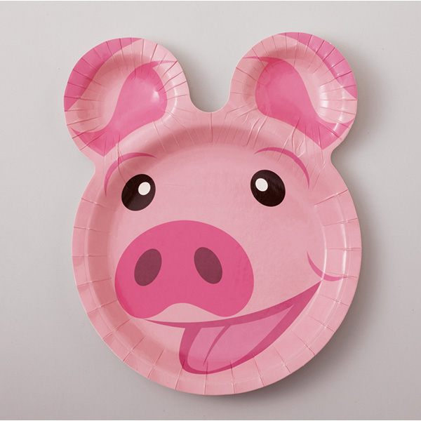 12 paper plate into pigs horses and Koala & pastreet | Rakuten Global Market: 12 paper plate into pigs horses ...