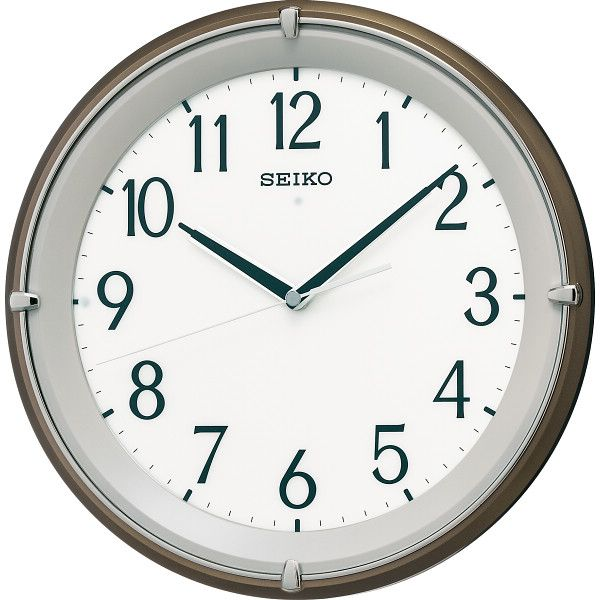 セイコー 文字板自動点灯電波掛時計(KX203B)(送料無料)