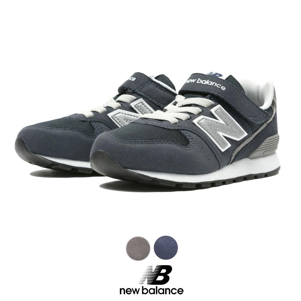 ニューバランス【New Balance】【NB】KV996 CWY JV996 CKY 定番 スニーカー ベルクロ ベーシック 正規品 ブランド ロゴ入りキッズ シューズ 靴