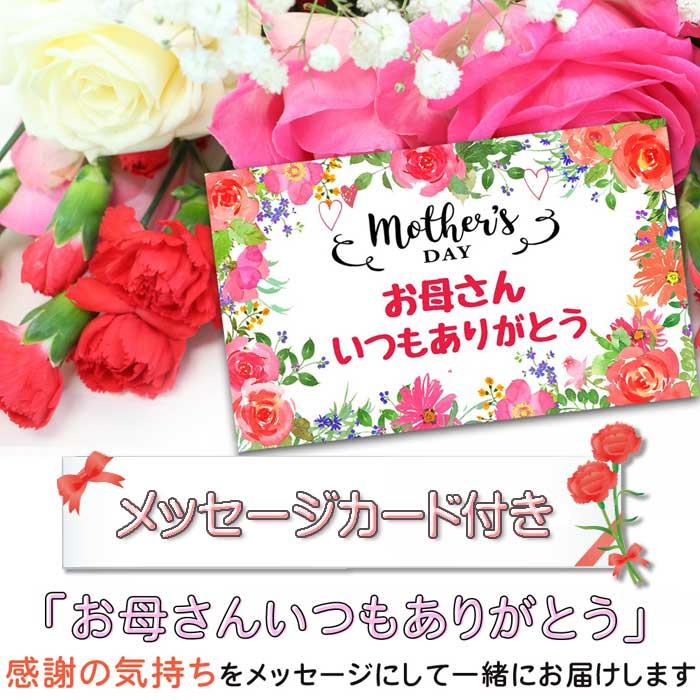 Present presentation to enter the bouquet clear case with percent flower  gift 2019 present carnation pearl already in Mother's Day, and to be able  to