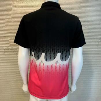 【メンズ】muta×ROCK DUDE(ムータ×ロックデュード) バックプリントポロシャツ 02・ 03 11-164302