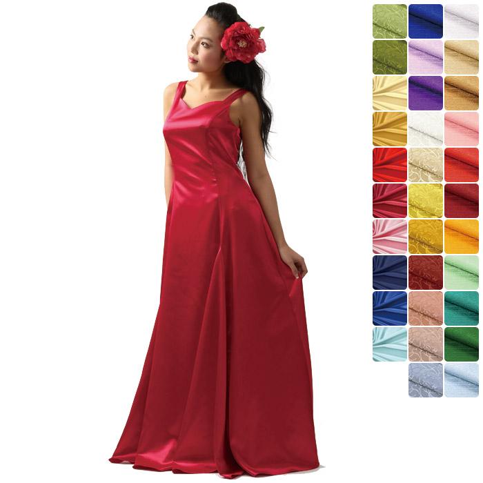 【オーダーメイド】 スリーブレス・フラドレス omds-31027ds 【10サイズから選べる】フラダンス衣装