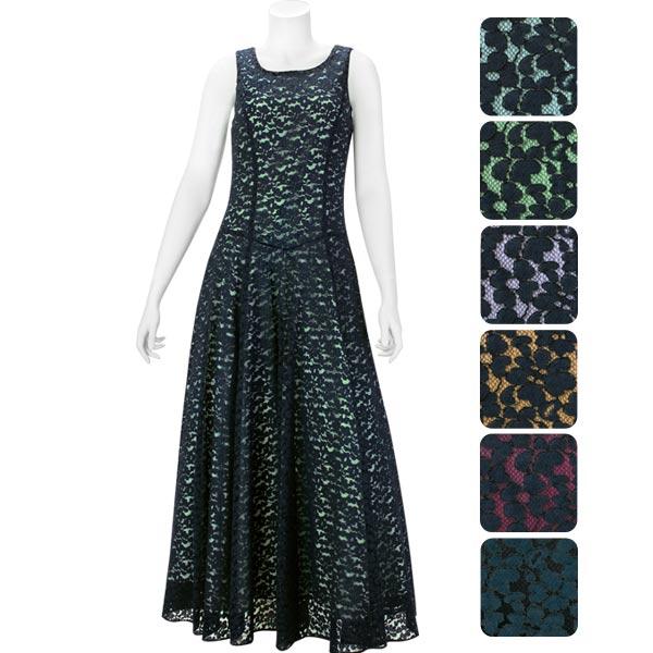 【送料無料】【オーダーメイド】 コードレース スリーブレス・フラドレス omds-61030ds 【6色×10サイズから選べる】フラダンス衣装