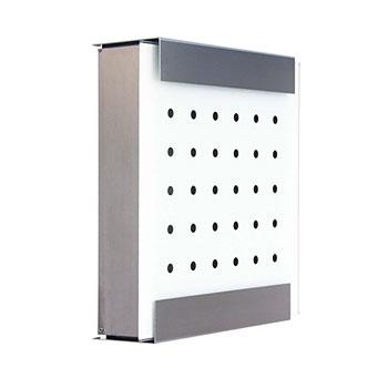 ポスト カイルバッハ ロット・オブ・ドットデザインの郵便ポスト 壁掛け デザインモデル 鍵付き