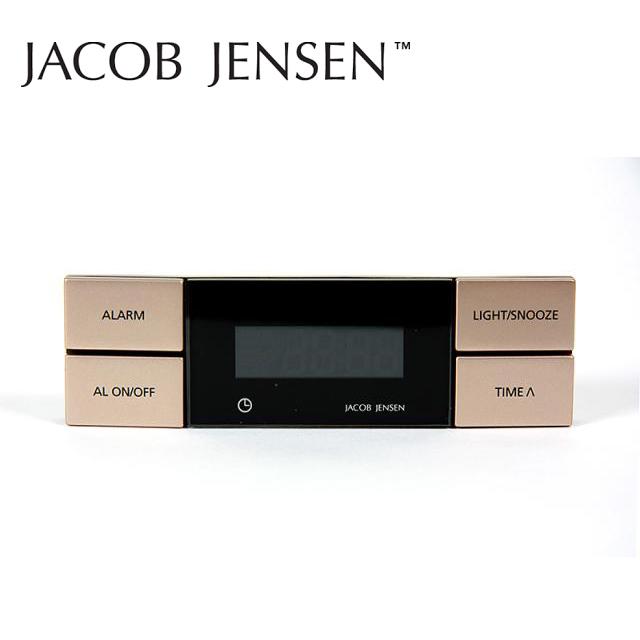 時計 置き時計 おしゃれ 目覚まし デジタル 北欧 アラーム ヤコブ・イェンセン WeatherStationシリーズ アラームクロック