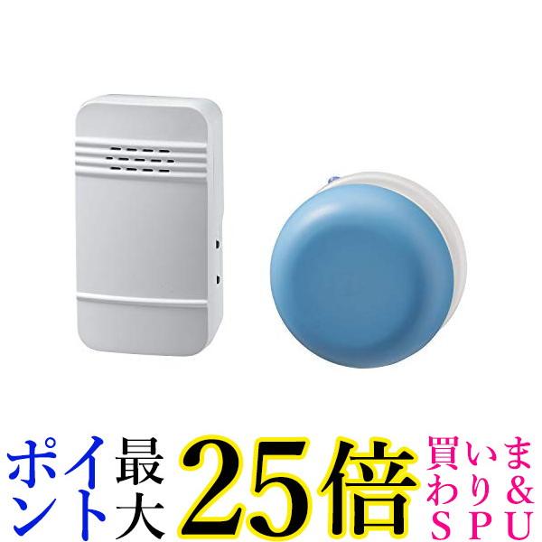 送料無料 沖縄 離島 その他一部地域を除く スーパーセール期間中ポイント最大25.5倍 エルパ 電池を使わないワイヤレスチャイム 新色追加 市場 ELPA WC-S6041AC