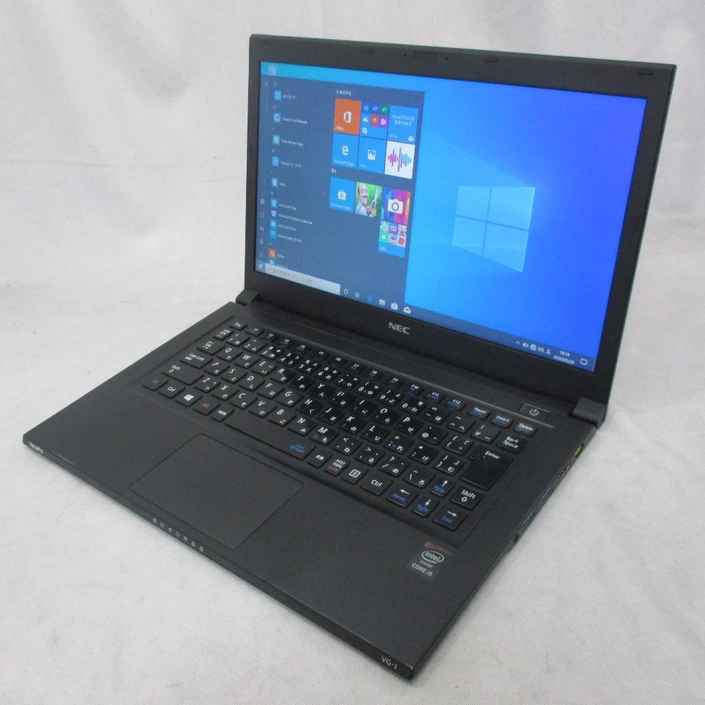 送料無料 中古パソコン ノート NEC VersaPro VG-J /13インチ/Windows10/Core i5/メモリ4GB/SSD128GB/