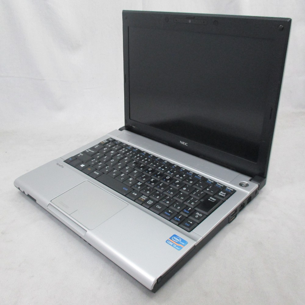 送料無料 中古パソコン ノート NEC VersaPro VB-F /12インチ/Windows10/Core i5/メモリ4GB/SSD128GB/ PC-VK26MBZDF