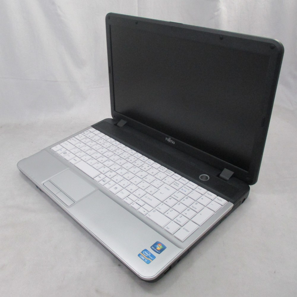 送料無料 中古パソコン プレミアムノート 富士通 FMV LIFEBOOK A531/DX /15インチ/Windows10/Core i3/メモリ8GB/新品SSD256GB/