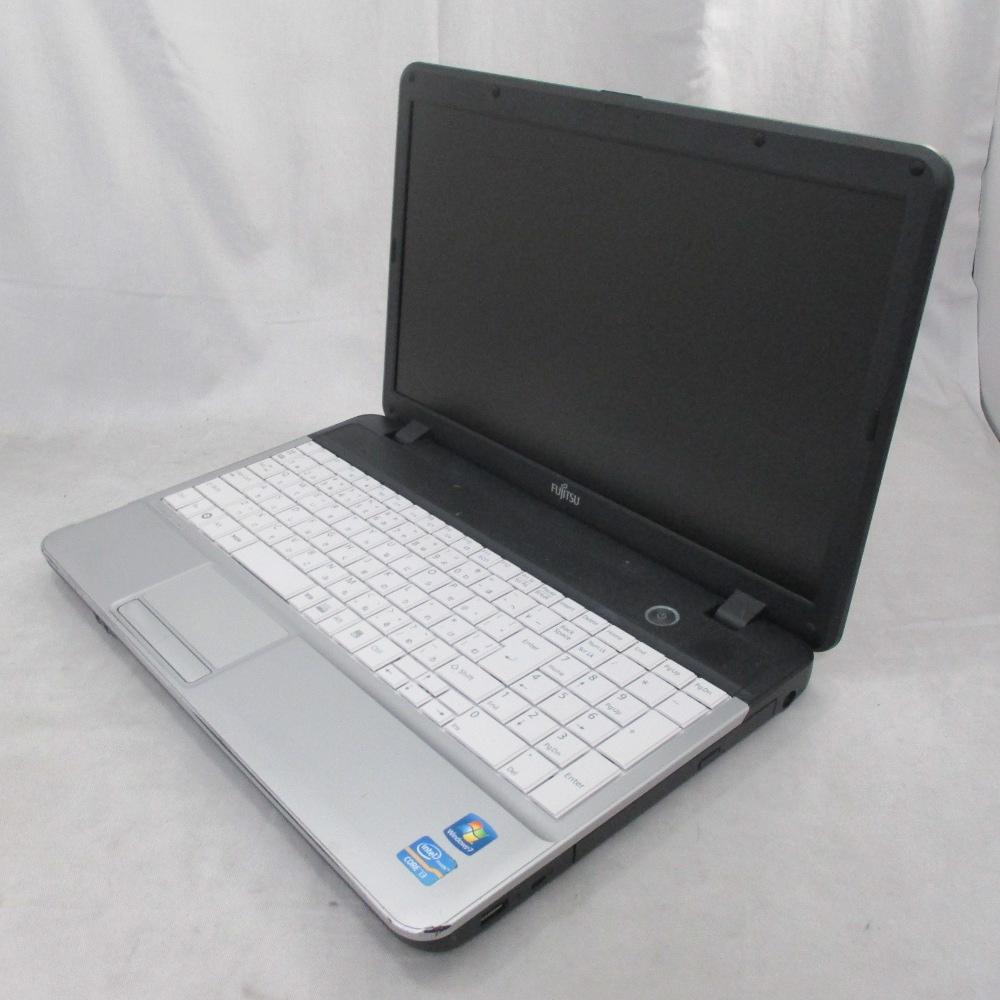 送料無料 中古パソコン ノート 富士通 FMV LIFEBOOK A531/DX /15インチ/Windows10/Core i3/メモリ4GB/HDD320GB/