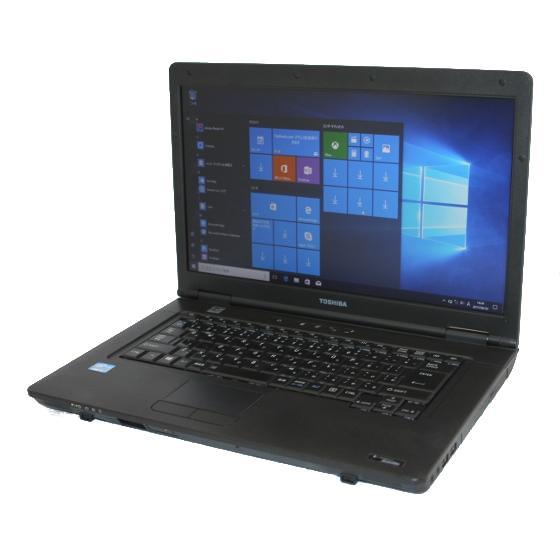 送料無料 中古パソコン ノート TOSHIBA dynabook B552/F /15インチ/Windows10/Core i3/メモリ4GB/HDD320GB/DVD/