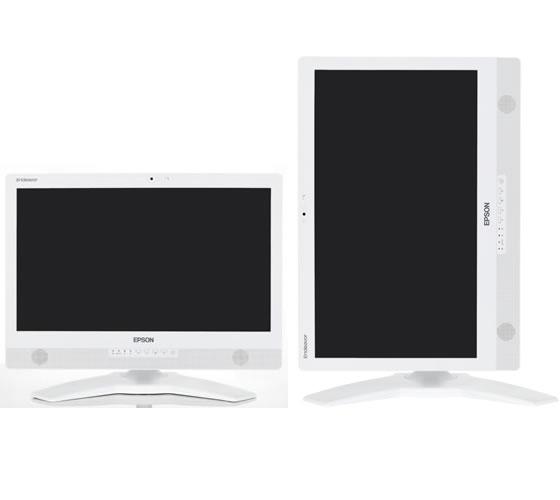 送料無料 中古パソコン プレミアム一体型 EPSON Endeavor PT110E /21インチ/Windows10/Core i5/メモリ8GB/新品SSD128GB+HDD1000GB/Webカメラ/