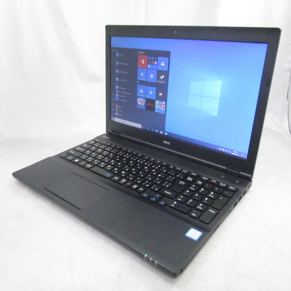 送料無料 中古パソコン プレミアムノート NEC VersaPro VX-U /15インチ/Windows10/Core i5/メモリ8GB/新品SSD256GB/DVD/Webカメラ/