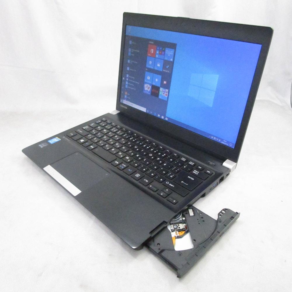 中古パソコン プレミアムノート TOSHIBA dynabook R734/K /13インチ/Windows10/Core i5/メモリ8GB/新品SSD256GB/DVD/