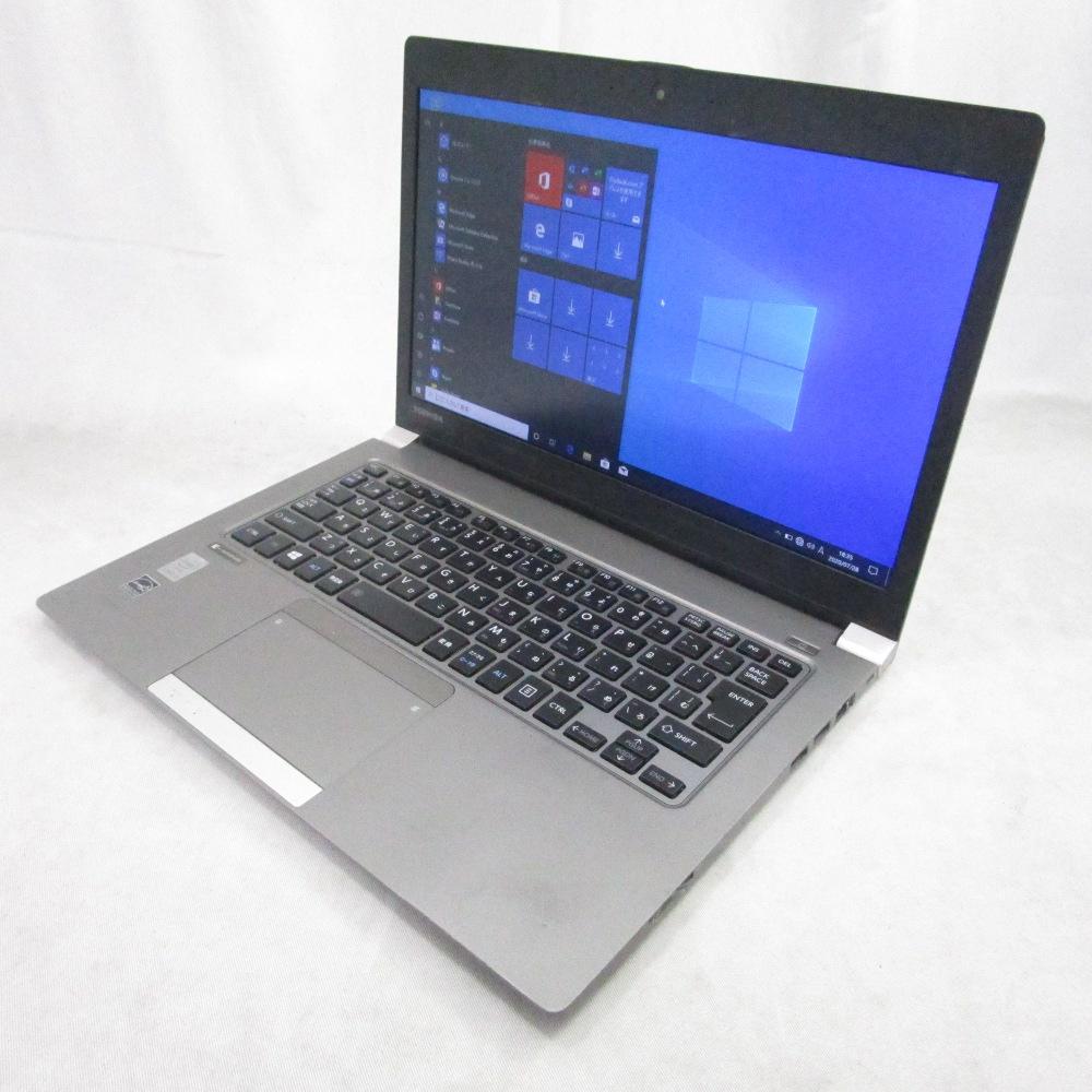 中古パソコン ノート TOSHIBA dynabook R63/P /13インチ/Windows10/Core i5/メモリ4GB/SSD256GB/Webカメラ/
