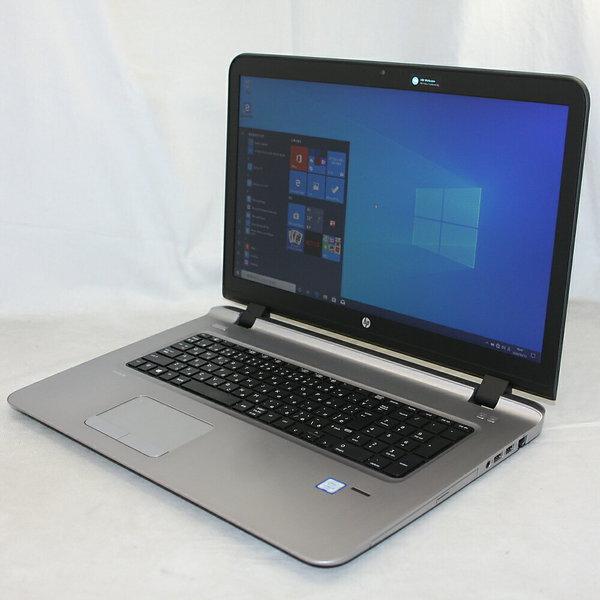 送料無料 中古パソコン プレミアムノート hp ProBook 470 G3 /17インチ/Windows10/Core i5/メモリ8GB/SSD128GB/DVD/Webカメラ/