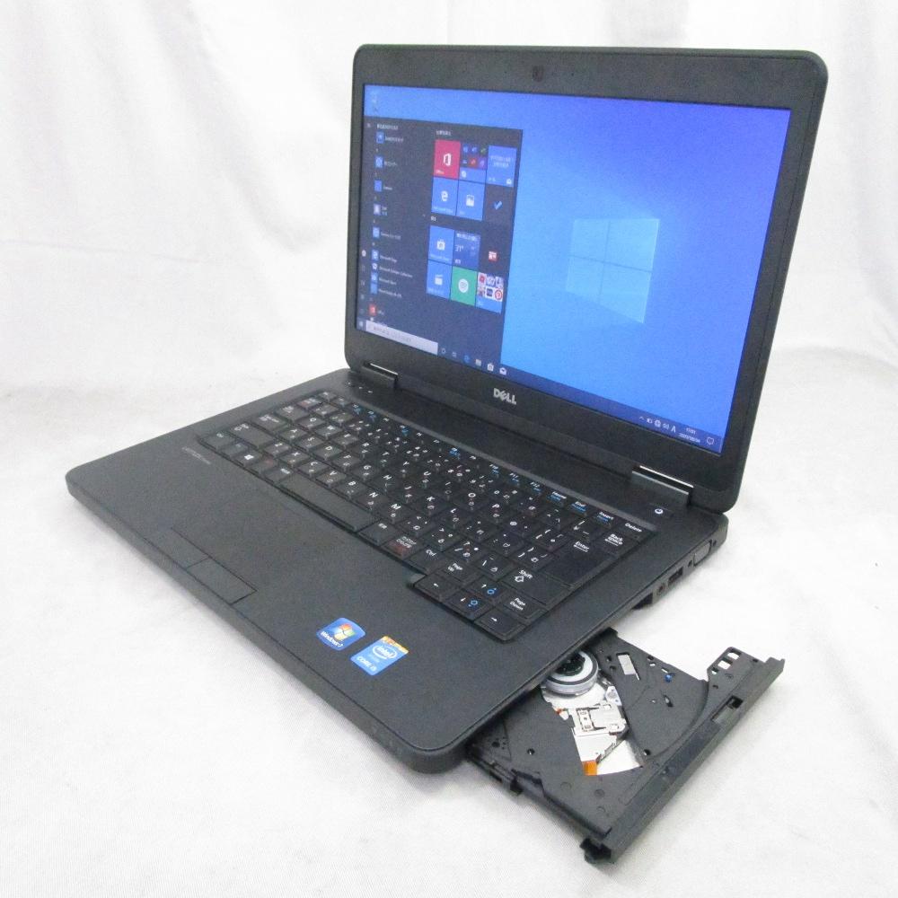 送料無料 中古パソコン プレミアムノート DELL LATITUDE E5440 /14インチ/Windows10/Core i5/メモリ4GB/HDD320GB/Webカメラ/DVD/