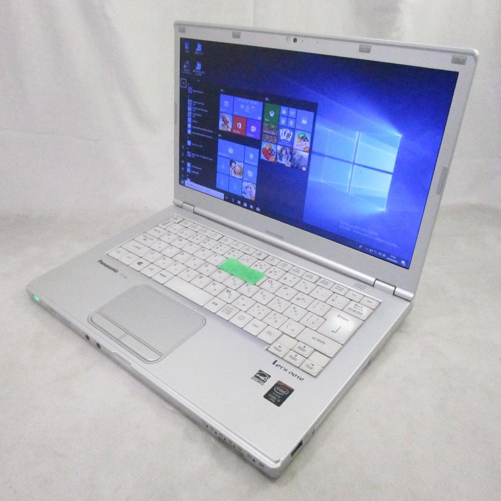 中古パソコン 訳ありノート Panasonic Let's note CF-LX4 /14インチ/Windows10/Core i5/メモリ4GB/HDD250GB/Webカメラ/DVD/