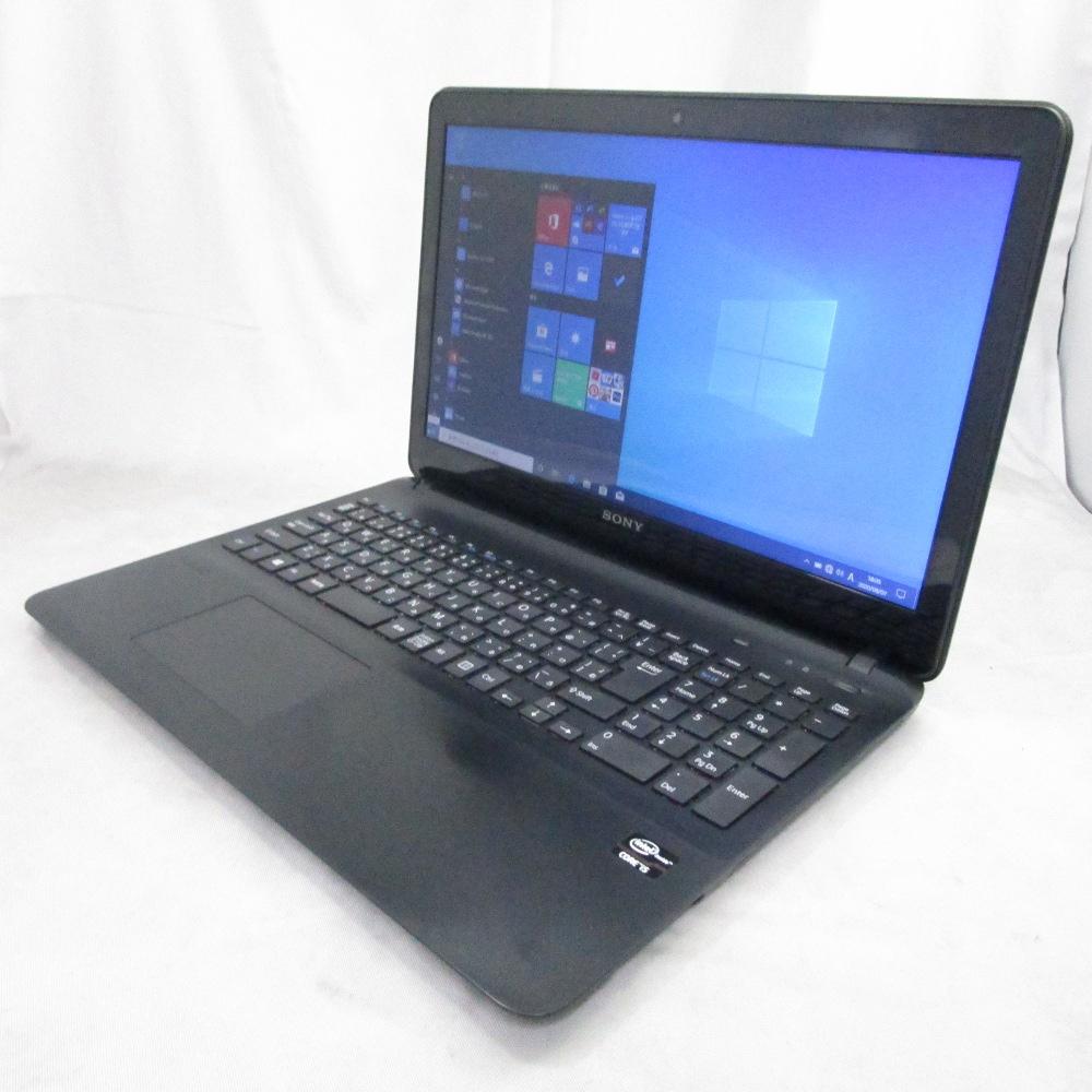 送料無料 中古パソコン ノート SONY VAIO Fit 15E /15インチ/Windows10/Core i5/メモリ4GB/HDD500GB/ SVF152C16N