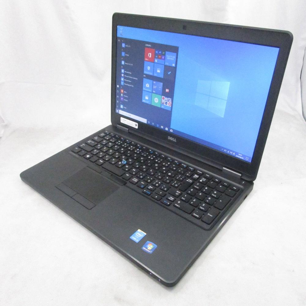中古パソコン 訳ありプレミアムノート DELL LATITUDE E5550 /15インチ/Windows10/Core i3/メモリ8GB/新品SSD256GB/