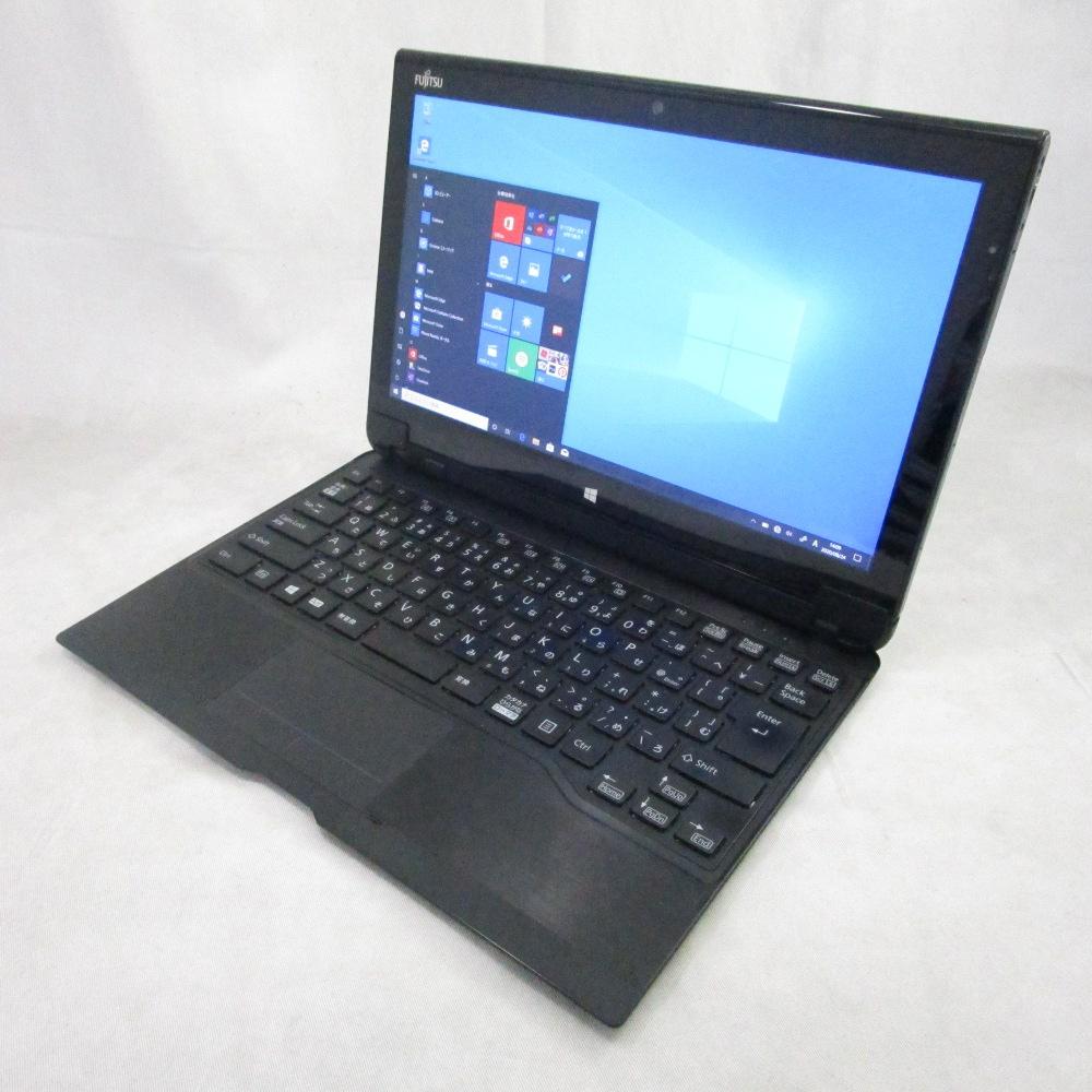 送料無料 中古タブレット FUJITSU ARROWS Tab Q704/H /12インチ/Windows10/Core i3/メモリ4GB/SSD128GB/Webカメラ/