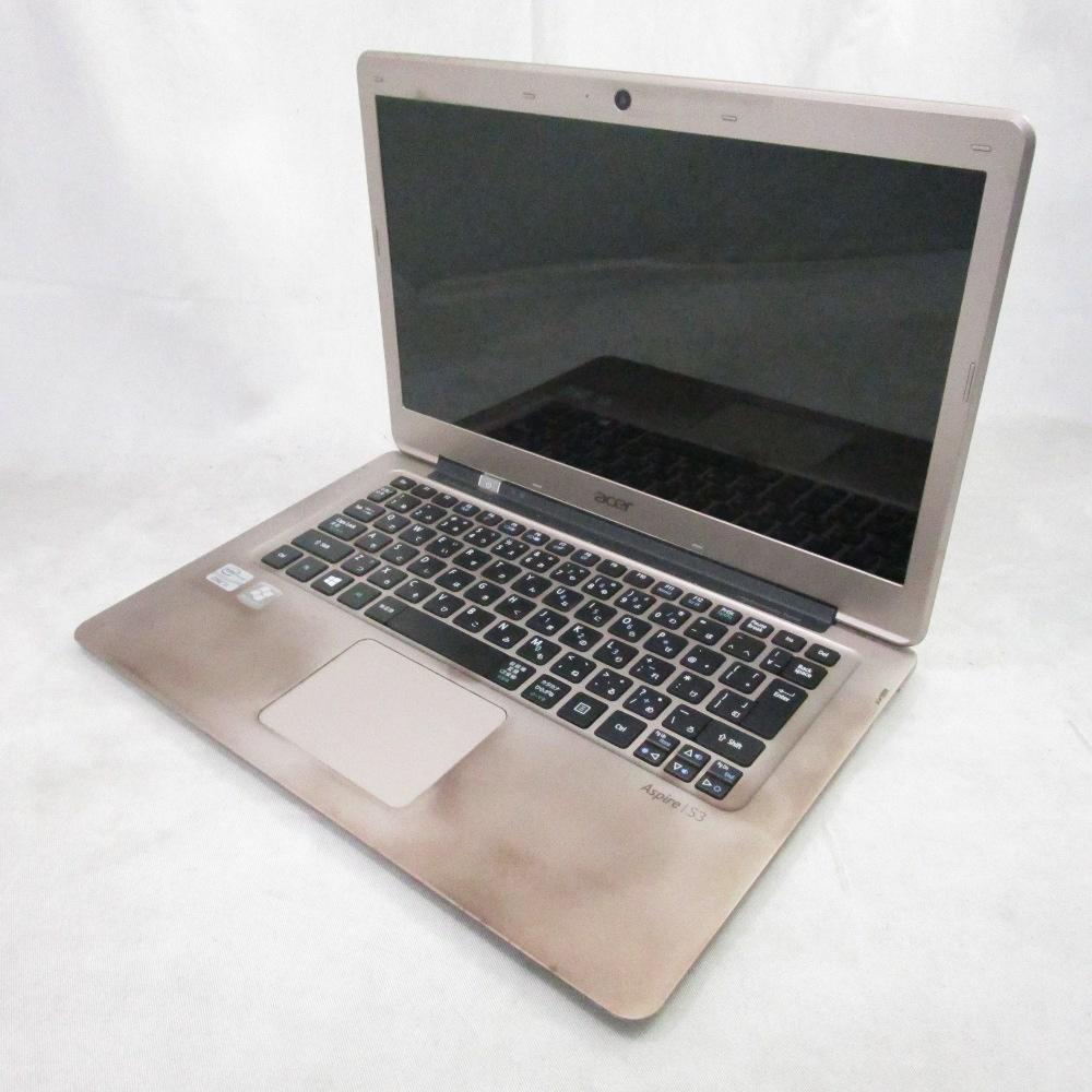 送料無料 中古パソコン ノート Acer Aspire S3 MS2346 /12インチ/Windows10/Core i5/メモリ4GB/SSD128GB/Webカメラ/