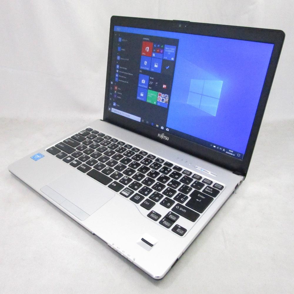 送料無料 中古パソコン ノート 富士通 LIFEBOOK S936/M /13インチ/Windows10/Celeron/メモリ4GB/SSD128GB/