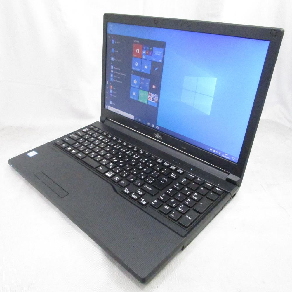 中古パソコン ノート LIFEBOOK A576/P /15インチ/Windows10/Core i5/メモリ4GB/HDD500GB/DVD/