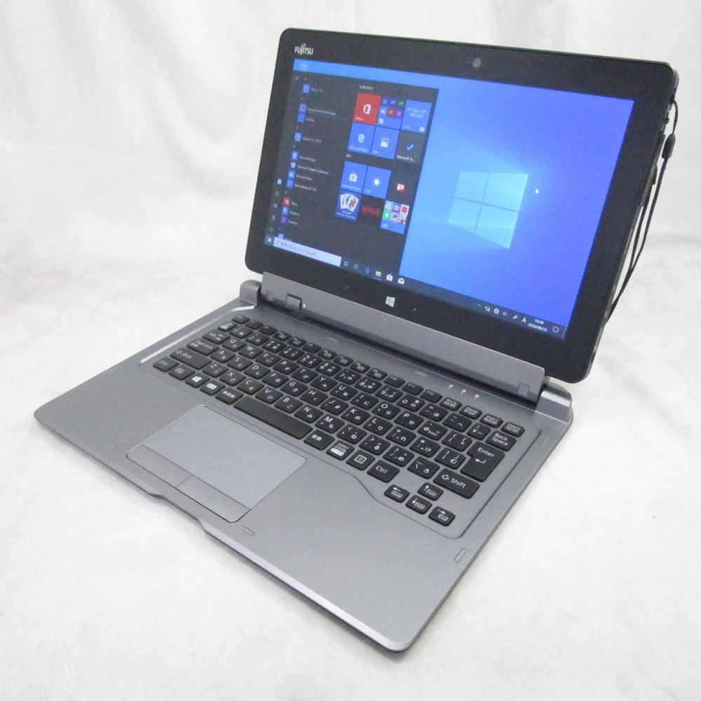 中古パソコン タブレット FUJITSU ARROWS Tab Q665 /11インチ/Windows10/Core M/メモリ4GB/SSD128GB/Webカメラ/