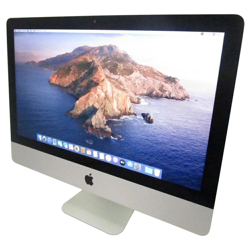 スリムな一体型 iMac 中古 送料無料 一体型 パソコン Apple お得 大人気! Late2013 21.5インチ Core Webカメラ X 10.15.7 OS i5 HDD1000GB メモリ16GB