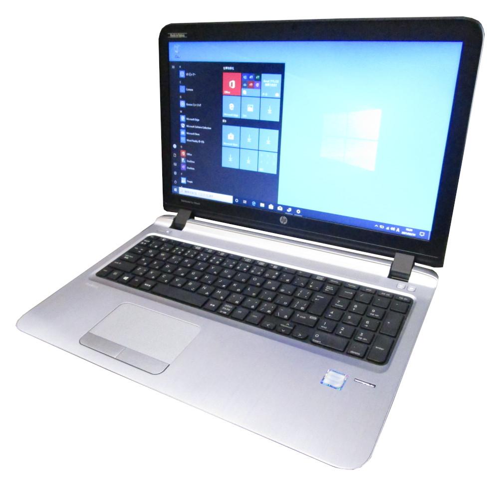 大画面快速プレミアム仕様 中古 実物 プレミアム 新作通販 ノート パソコン hp ProBook 450 G3 DVD Core 新品SSD512GB i3 Webカメラ Windows10 メモリ8GB 15インチ