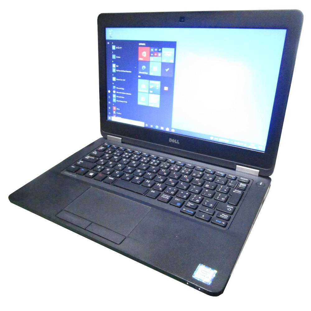 大容量メモリ+SSD 中古 大規模セール 送料無料 プレミアム ノート パソコン DELL Latitude 12インチ E5270 i5 Webカメラ Windows10 メモリ8GB Core トレンド SSD256GB