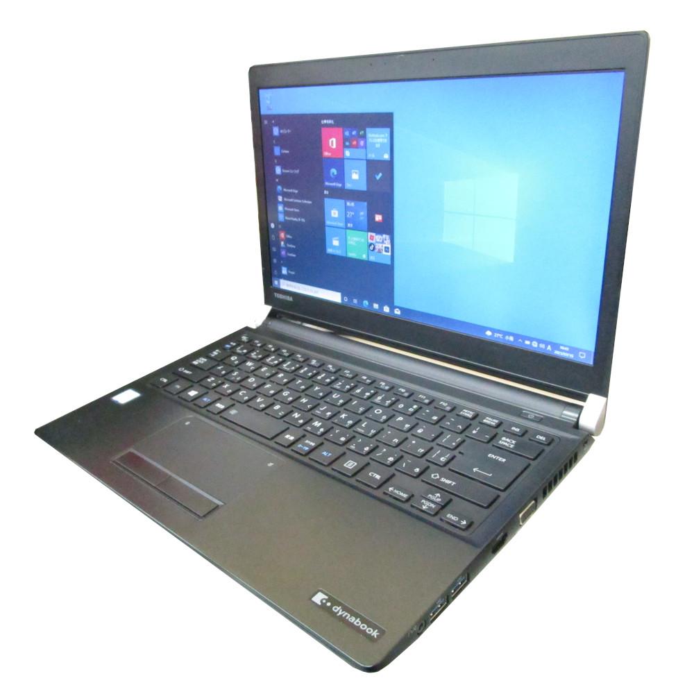 13.3インチ軽量 HDMI出力搭載Win10Pro64bit 中古 休み プレミアム ノート パソコン 東芝 TOSHIBA dynabook i5 メモリ8GB R73 Core F Windows10 SSD400GB 訳あり商品 13インチ