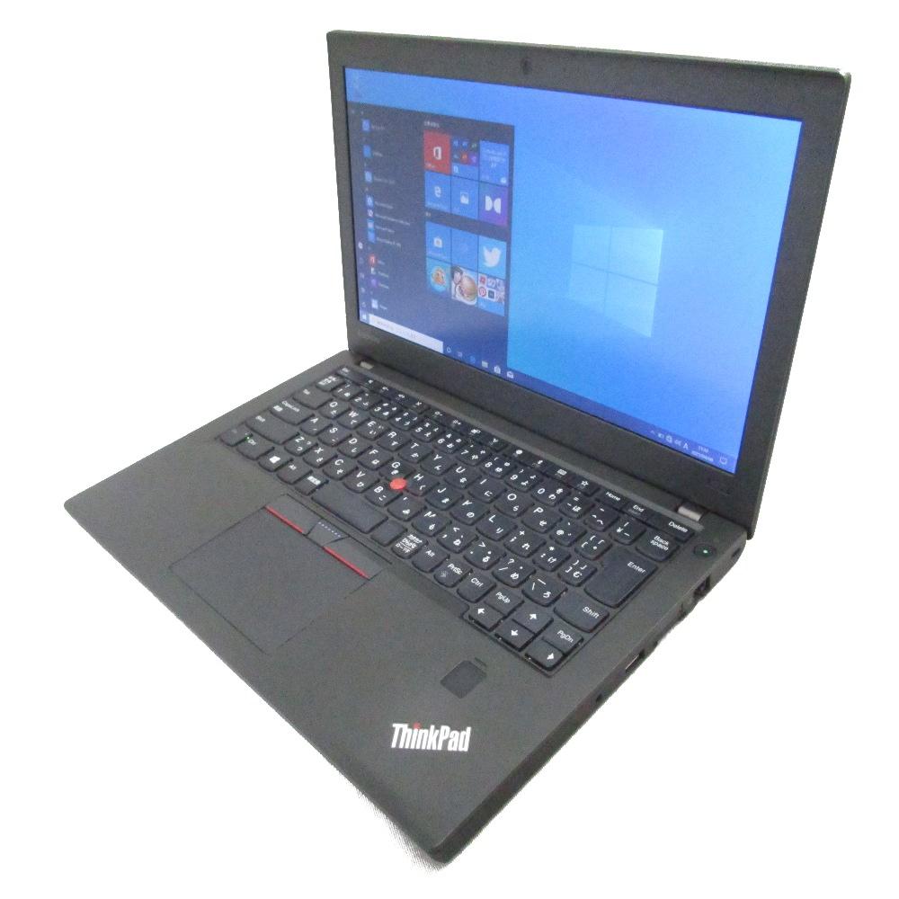 信頼のINTEL製SSD 中古 期間限定特価 送料無料 プレミアム ノート 本日の目玉 売れ筋ランキング パソコン Lenovo ThinkPad Core Webカメラ メモリ8GB Windows10 12インチ i5 X270 SSD300GB
