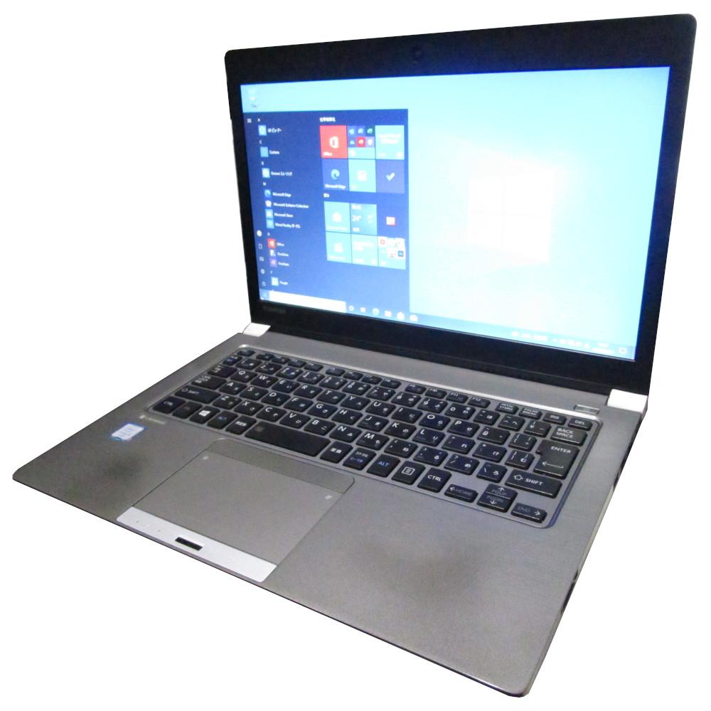 薄型ノートPC 中古 送料無料 プレミアム ノート パソコン TOSHIBA dynabook ファクトリーアウトレット R63 SSD256GB i5 メモリ8GB 格安店 Core D Webカメラ 13インチ Windows10