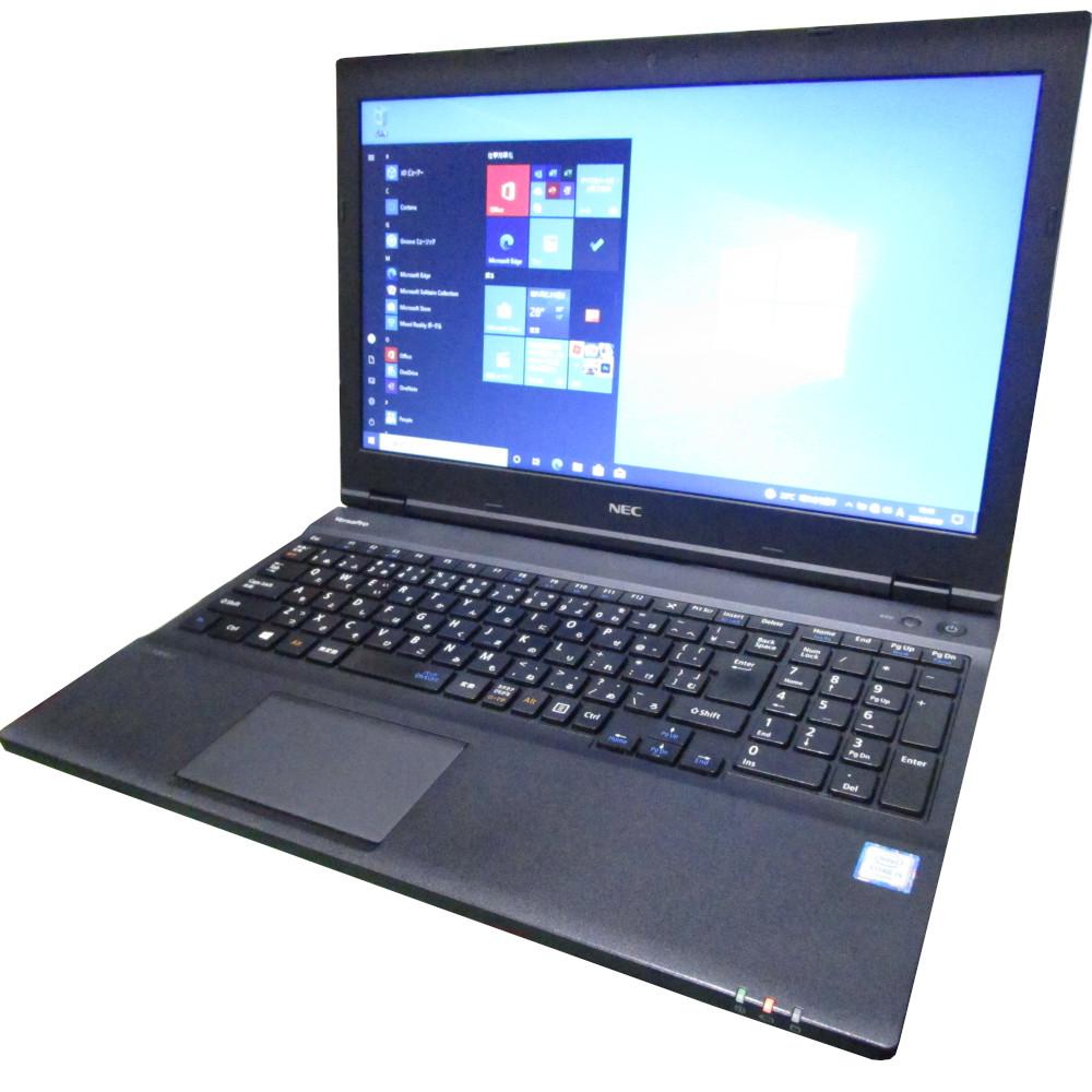 大きく見やすい15インチノート 中古 プレミアム ノート パソコン NEC VersaPro VX-U DVD Core メモリ8GB 15インチ 最安値に挑戦 Windows10 i5 SSD128GB 業界No.1