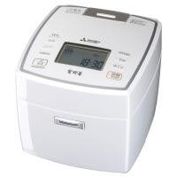 三菱(ミツビシ) 備長炭 炭炊釜 NJ-VV109(W) ピュアホワイト