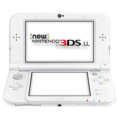 【送料無料】当社1ヶ月間保証[中古Aランク]■Nintendo New NINTENDO 3DS LL [パールホワイト]中古【中古】 【 中古スマホとタブレット販売のイオシス 】
