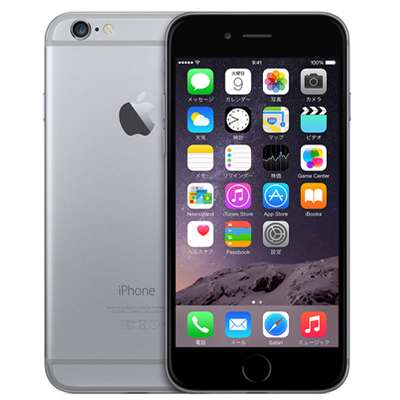 白ロム docomo iPhone6 64GB A1586 (NG4F2J/A) スペースグレイ[中古Bランク]【当社3ヶ月間保証】 スマホ 中古 本体 送料無料【中古】 【 中古スマホとタブレット販売のイオシス 】