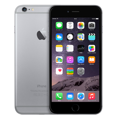 白ロム docomo iPhone6 Plus 16GB A1524 (MGA82J/A) スペースグレイ[中古Bランク]【当社3ヶ月間保証】 スマホ 中古 本体 送料無料【中古】 【 中古スマホとタブレット販売のイオシス 】