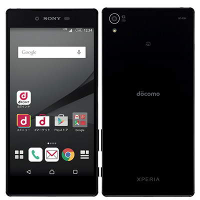 白ロム docomo Xperia Z5 Premium SO-03H Black[中古Cランク]【当社3ヶ月間保証】 スマホ 中古 本体 送料無料【中古】 【 中古スマホとタブレット販売のイオシス 】