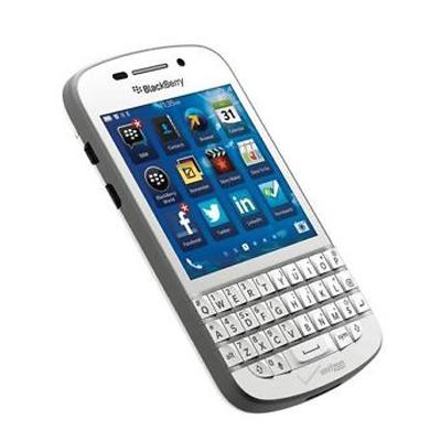 The SIM-free BlackBerry Q10 SQN100-3 (RFN81UW) White [used A rank]  smartphone used body