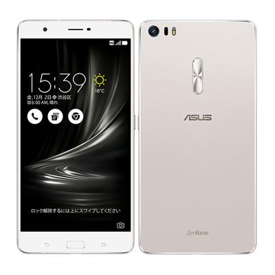 SIMフリー ASUS ZenFone3 Ultra Dual SIM ZU680KL 64GB Silver 【海外版 SIMフリー】[中古Bランク]【当社3ヶ月間保証】 スマホ 中古 本体 送料無料【中古】 【 中古スマホとタブレット販売のイオシス 】