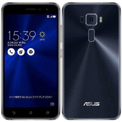 SIMフリー ASUS ZenFone3 5.2 Dual SIM ZE520KL Black 【32GB 国内版 SIMフリー】[中古Cランク]【当社3ヶ月間保証】 スマホ 中古 本体 送料無料【中古】 【 中古スマホとタブレット販売のイオシス 】