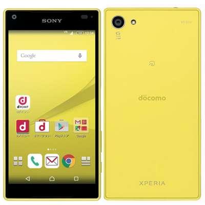 白ロム docomo Xperia Z5 Compact SO-02H Yellow[中古Bランク]【当社3ヶ月間保証】 スマホ 中古 本体 送料無料【中古】 【 中古スマホとタブレット販売のイオシス 】