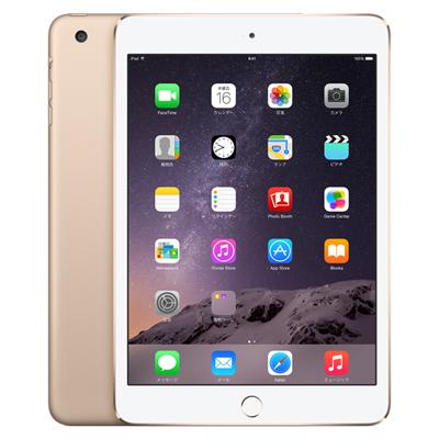 白ロム 【第3世代】iPad mini3 Wi-Fi+Cellular 16GB ゴールド MGYR2J/A A1600[中古Bランク]【当社3ヶ月間保証】 タブレット au 中古 本体 送料無料【中古】 【 中古スマホとタブレット販売のイオシス 】