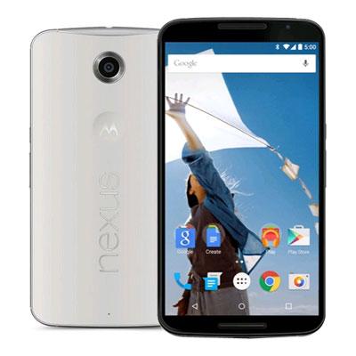SIMフリー Google Nexus 6 32GB Cloud White [XT1100 SIMフリー][中古Bランク]【当社3ヶ月間保証】 スマホ 中古 本体 送料無料【中古】 【 中古スマホとタブレット販売のイオシス 】