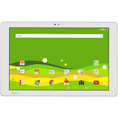 白ロム Qua tab PZ LGT32 White[中古Aランク]【当社3ヶ月間保証】 タブレット au 中古 本体 送料無料【中古】 【 中古スマホとタブレット販売のイオシス 】