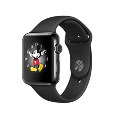 【送料無料】当社1ヶ月間保証[中古Bランク]■Apple Apple Watch Series 2 42mm MP4E2J/A [スペースブラックステンレススチールケース/ブラックスポーツバンド]【周辺機器】中古【中古】 【 中古スマホとタブレット販売のイオシス 】