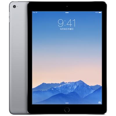 白ロム iPad Air2 Wi-Fi Cellular 64GB スペースグレイ MGHX2J/A[中古Cランク]【当社3ヶ月間保証】 タブレット docomo 中古 本体 送料無料【中古】 【 中古スマホとタブレット販売のイオシス 】